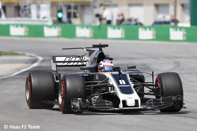 Romain Grosjean - Haas - Carrera GP Canadá 2017