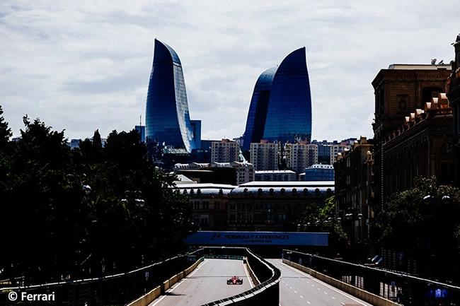 Scuderia Ferrari - Viernes GP Azerbaiyán 2017