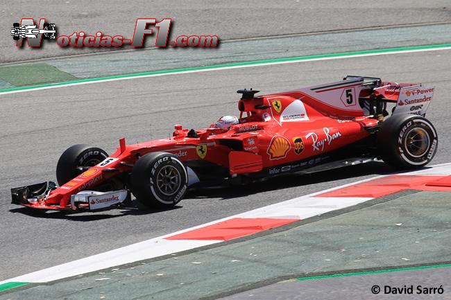 Sebastian Vettel - Scuderia Ferrari - 2017 - David Sarró - www.noticias-f1.com