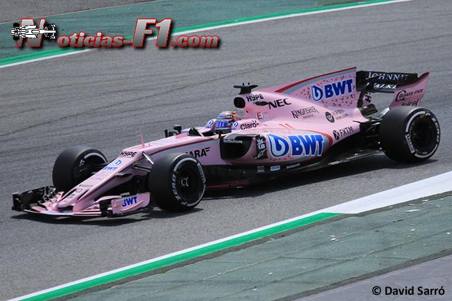 Sergio Pérez - Force India - 2017 - David Sarró - www.noticias-f1.com