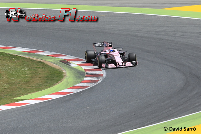 Sergio Pérez - Force India - - David Sarró - www.noticias-f1.com