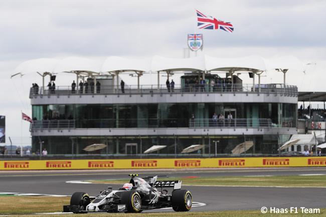 Antonio Giovinazzi - Haas F1 - Viernes - GP Gran Bretaña 2017