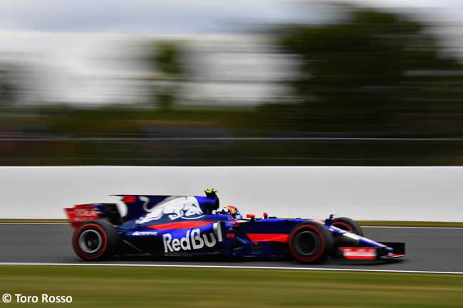Carlos Sainz - Toro Rosso - Viernes - GP Gran Bretaña 2017