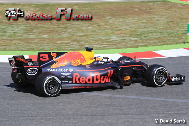 Daniel Ricciardo - Red Bull Racing - David Sarró - www.noticias-f1.com