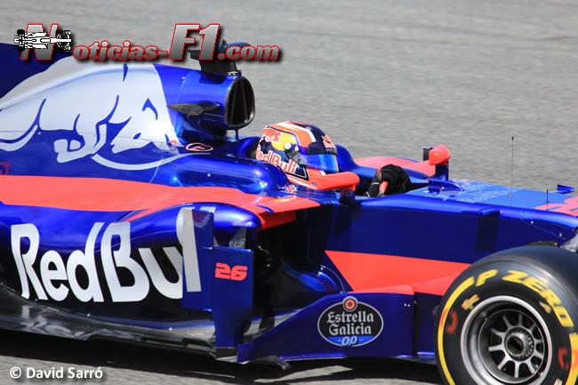 Daniil Kvyat - Toro Rosso - David Sarró - www.noticias-f1.com