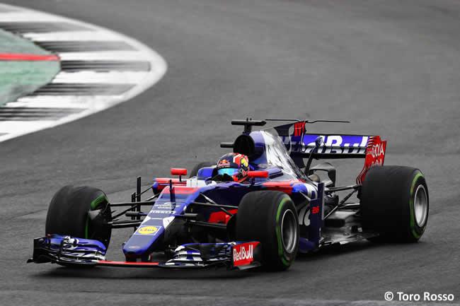 Daniil Kvyat - Toro Rosso - Calificación GP Gran Bretaña 2017