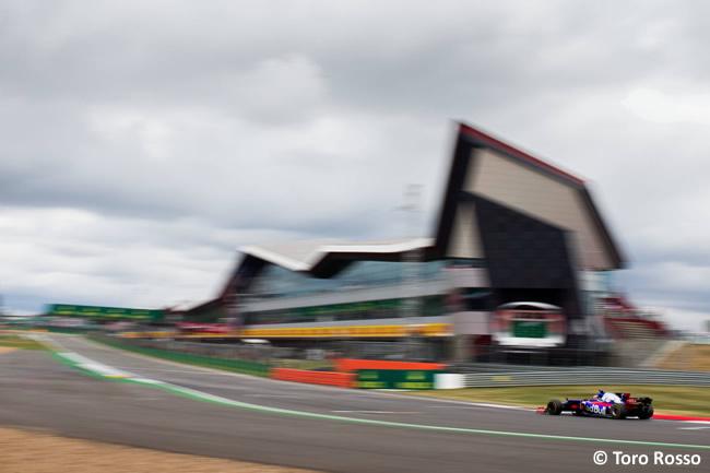 Daniil Kvyat - Toro Rosso - Carrera GP Gran Bretaña 2017