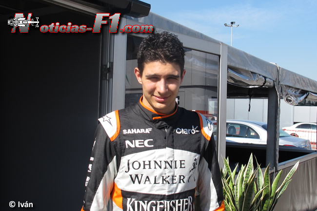Esteban Ocon - Force India - www.noticias-f1.com