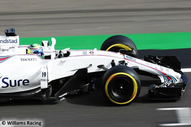 Felipe Massa - Williams - Viernes - GP Gran Bretaña 2017
