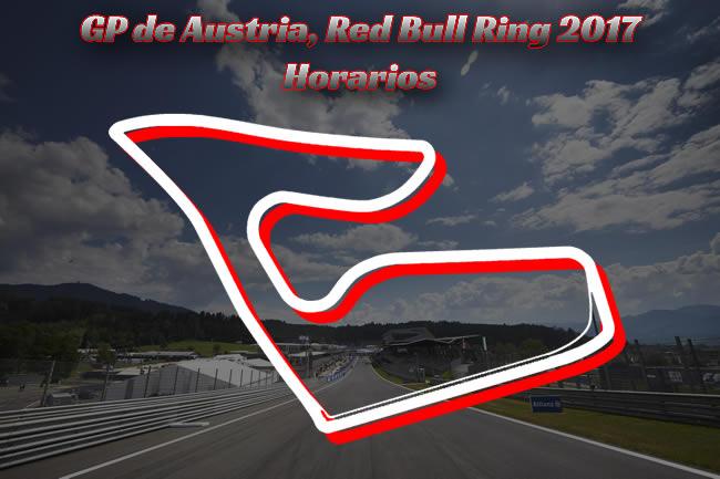 GP Austria 2017 - Horarios