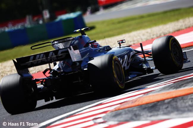 Haas F1 - GP - Hungría 2017 - Viernes