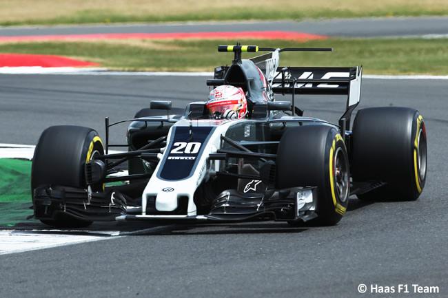 Kevin Magnussen - Haas - Carrera GP Gran Bretaña 2017