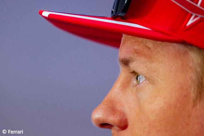 Kimi Raikkonen - Scuderia Ferrari - Carrera GP Gran Bretaña 2017