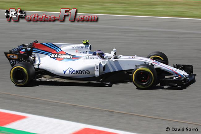Lance Stroll - Williams- David Sarró - www.noticias-f1.com
