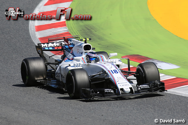 Lance Stroll - Williams - David Sarró - www.noticias-f1.com
