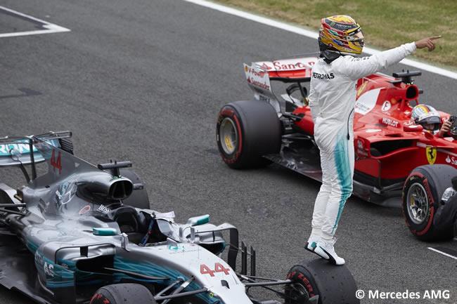 Lewis Hamilton - Mercedes AMG - Pole - GP Gran Bretaña 2017