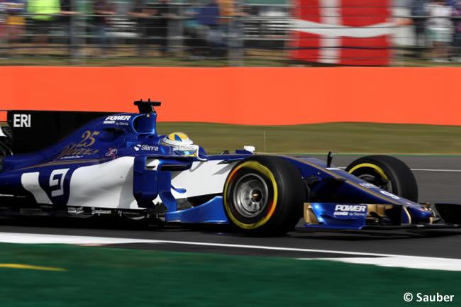 Marcus Ericsson - Sauber - Viernes - GP Gran Bretaña 2017