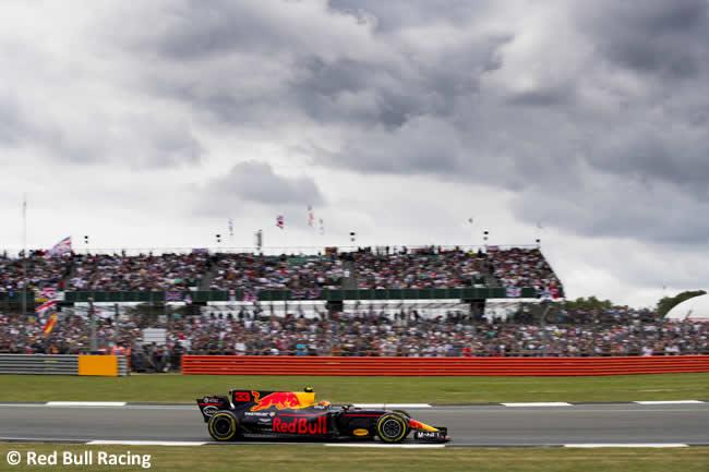 Max Verstappen - Red Bull Racing - Carrera GP Gran Bretaña 2017