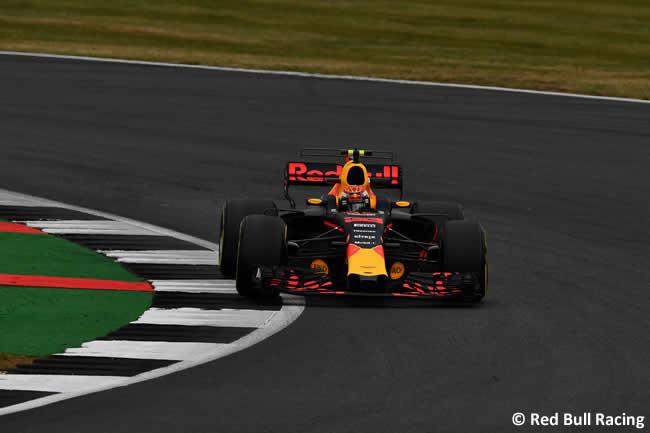 Max Verstappen - Red Bull Racing - Viernes - GP Gran Bretaña 2017