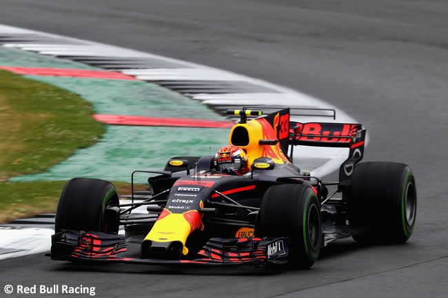 Max Verstappen - Red Bull Racing - Calificación GP Gran Bretaña 2017