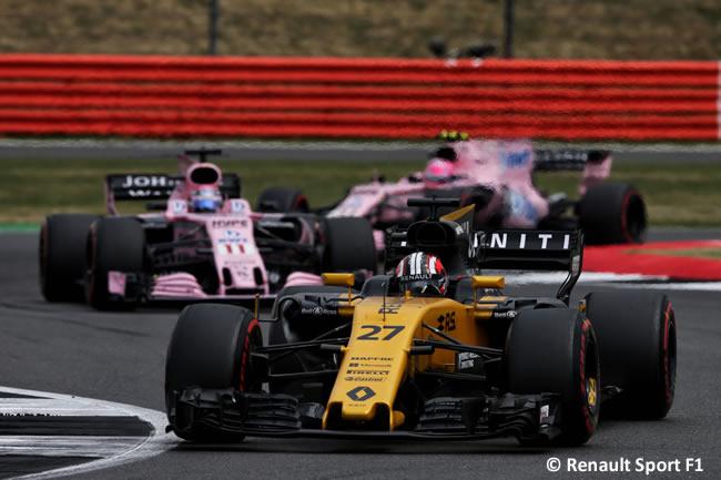 Nico Hulkenberg - Renault - Carrera GP Gran Bretaña 2017