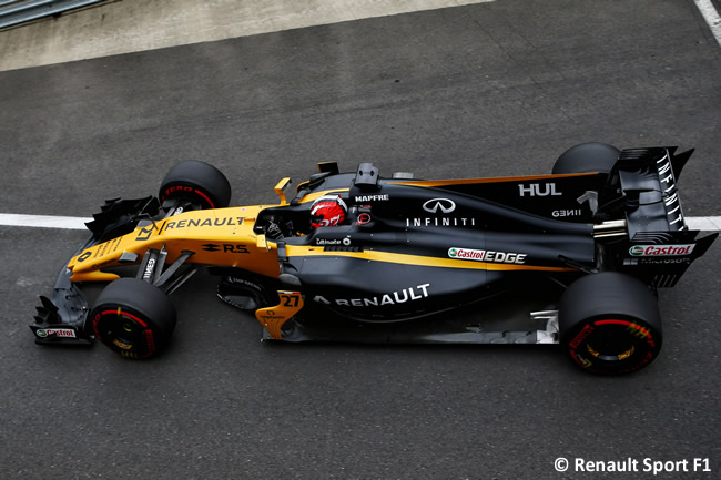 Nico Hulkenberg - Renault Sport - Viernes - GP Gran Bretaña 2017