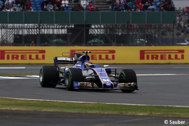 Pascal Werhlein- Sauber - Calificación GP Gran Bretaña 2017