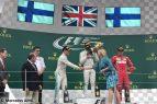 Podio Gran Premio de Gran Bretaña 2017 - Lewis Hamilton - Valtteri Bottas - Kimi Raikkonen