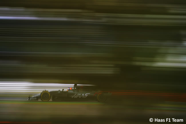 Romain Grosjean - Haas F1 - Calificación GP Gran Bretaña 2017