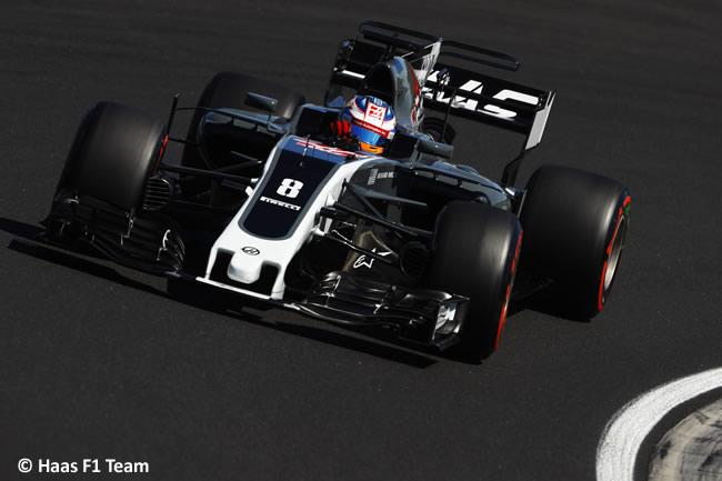 Romain Grosjean - Haas F1 - Calificación GP Hungría 2017