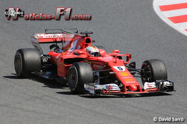 Sebastian Vettel - Scuderia Ferrrari - David Sarró - www.noticias-f1.com