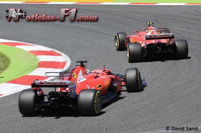Sebastian Vettel - Kimi Raikkonen - Scuderia Ferrari - David Sarró - www.noticias-f1.com