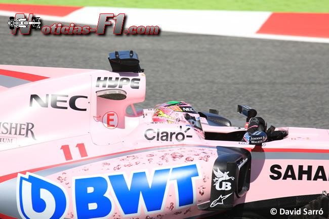 Sergio Pérez - Force India - David Sarró - www.noticias-f1.com