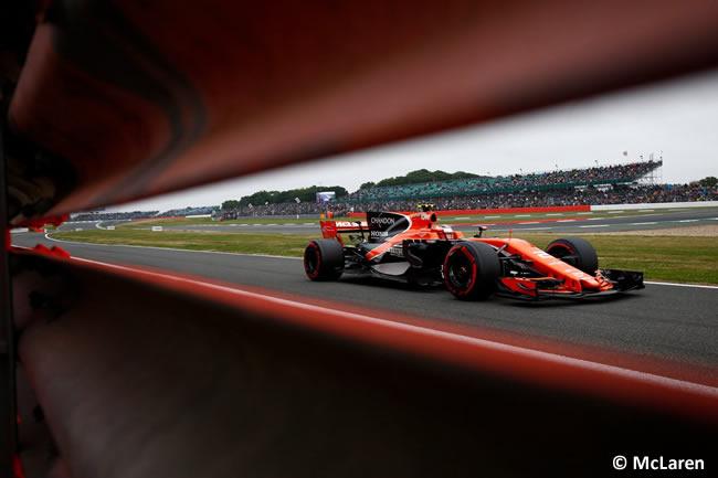 Stoffel Vandoorne - McLaren-Honda - Calificación GP Gran Bretaña 2017