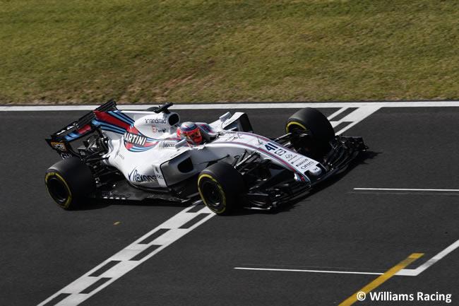 Luca Ghiotto - Williams - Test temporada Hungría - Día 2