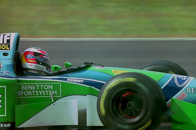 Michael Schumacher - Benetton 194 - B194