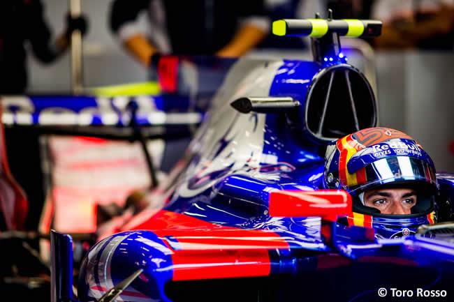 Carlos Sainz - Toro Rosso - Entrenamientos - GP Bélgica 2017
