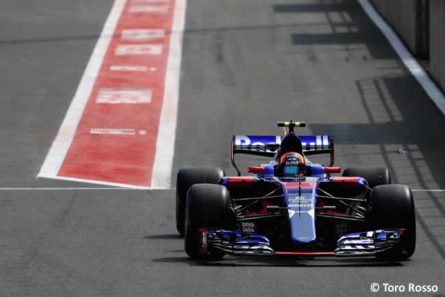 Carlos Sainz - Toro Rosso - GP Bélgica 2017 - Calificación