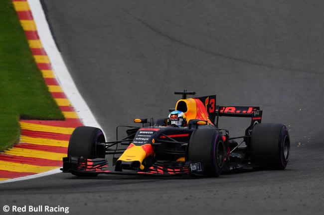 Daniel Ricciardo - Red Bull Racing - GP Bélgica 2017 - Carrera