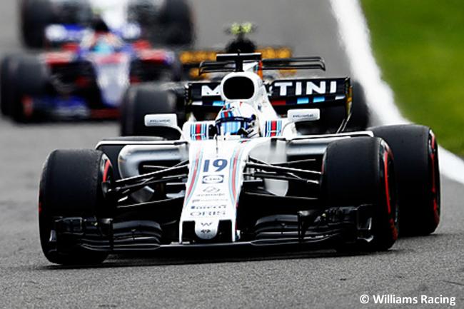 Felipe Massa - Williams - GP Bélgica 2017 - Carrera