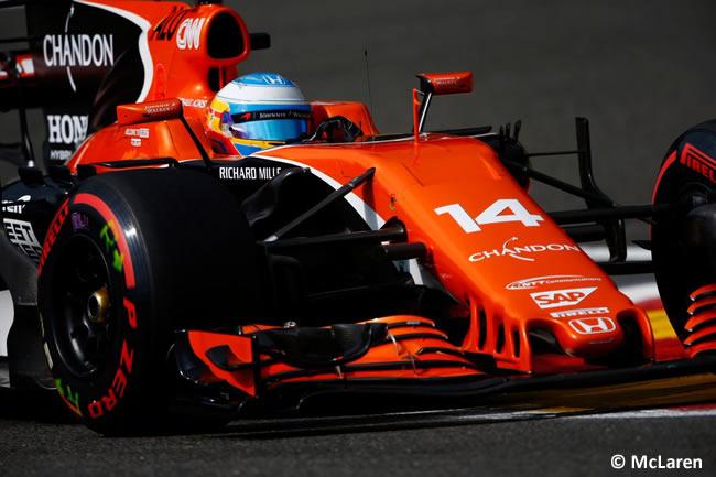 Fernando Alonso - McLaren - GP Bélgica 2017 - Calificación