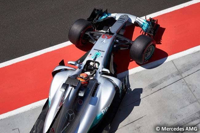 George Russell - Mercedes AMG - Test temporada Hungría - Día 1