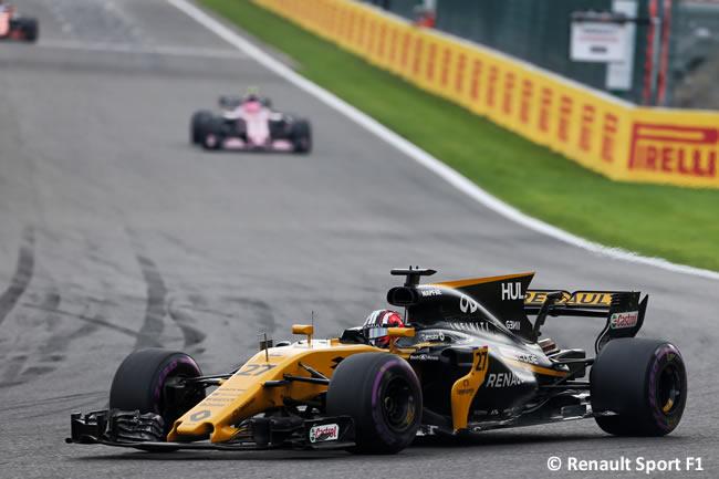 Jolyon Palmer - Renault - GP Bélgica 2017 - Carrera
