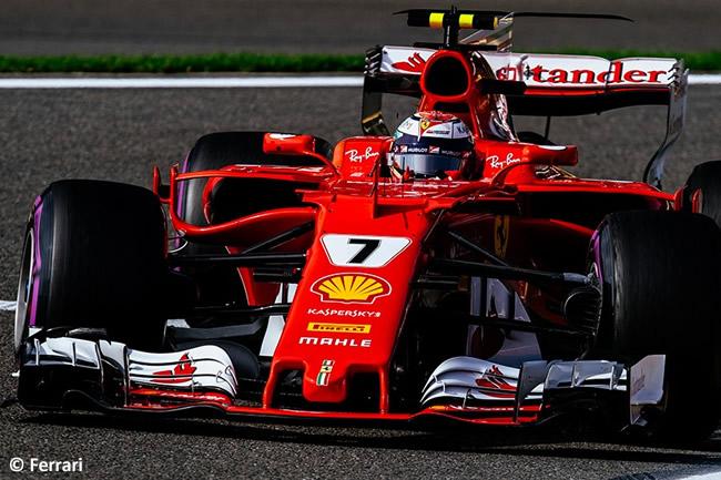 Kimi Raikkonen - Scuderia Ferrari - Entrenamientos - GP Bélgica 2017