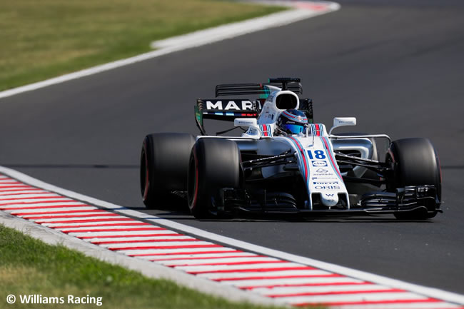 Lance Stroll - Williams - Test temporada Hungría - Día 1