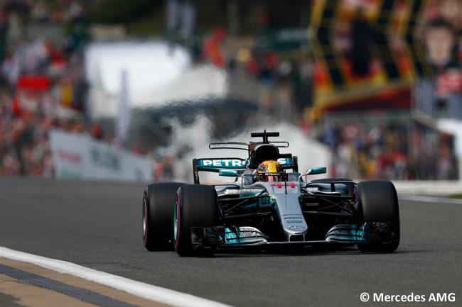 Lewis Hamilton - Mercedes AMG - GP Bélgica 2017 - Calificación