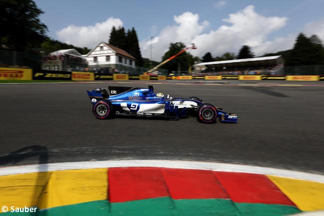 Marcus Ericsson - Sauber - GP Bélgica 2017 - Calificación