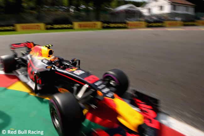 Max Verstappen - Red Bull Racing - GP Bélgica 2017 - Calificación