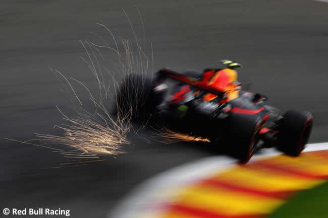 Max Verstappen - Red Bull - Entrenamientos - GP Bélgica 2017