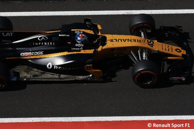 Nicholas Latifi - Renault - Test temporada Hungría - Día 1